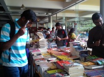 At the Oxford book stall